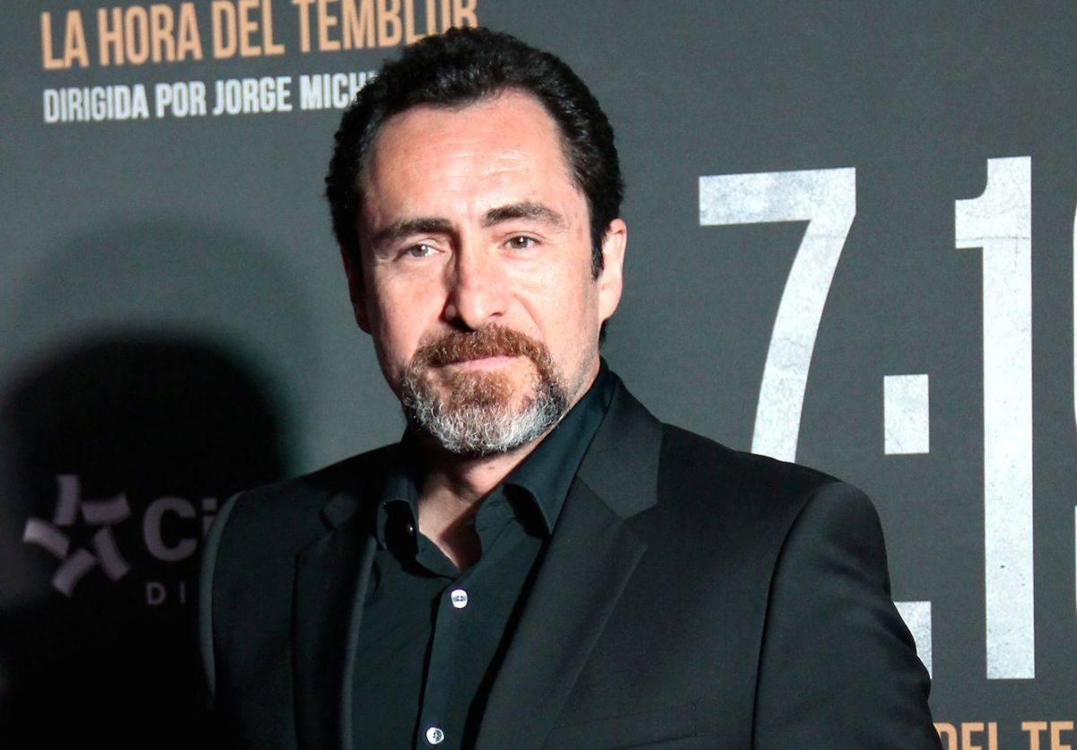 "Demián Bichir in ""Midnight Sky"", Netflix's # 1 movie: ""You can't say no to George Clooney"" 