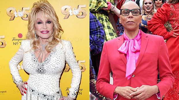 Dolly Parton Shades RuPaul About Staying Makeup 'Ready' & Fans Think She 'Ripped' The Drag Queen To 'Shreds'