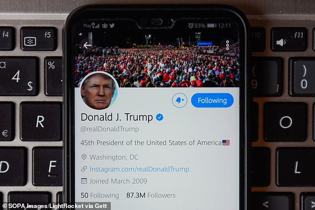Donald Trump's Twitter WAS hacked by a cyber researcher who used password 'maga2020!'