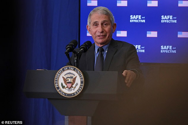 Dr. Fauci clarifies that most Americans will receive a COVID-19 vaccine by early spring 2021