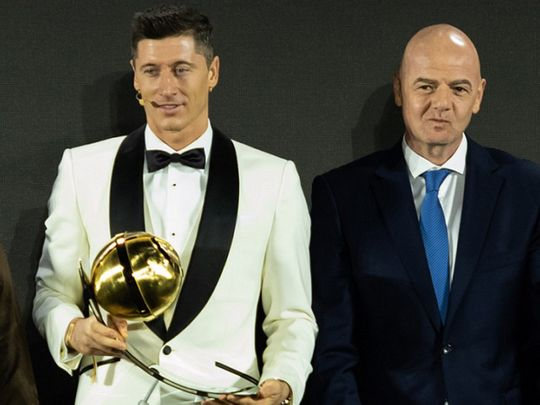 Dubai Globe Soccer Awards: Lewandowski charts his course for year ahead