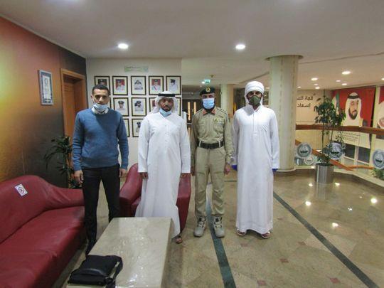 Dubai Police honour Emirati for returning Dh12,000