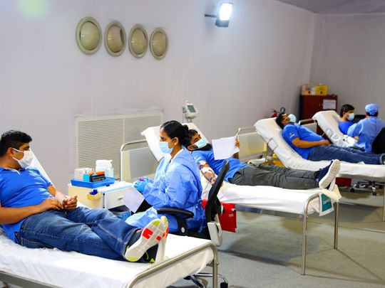 Dubai collects 4,191 units of blood from 75 nationalities during voluntary blood donation