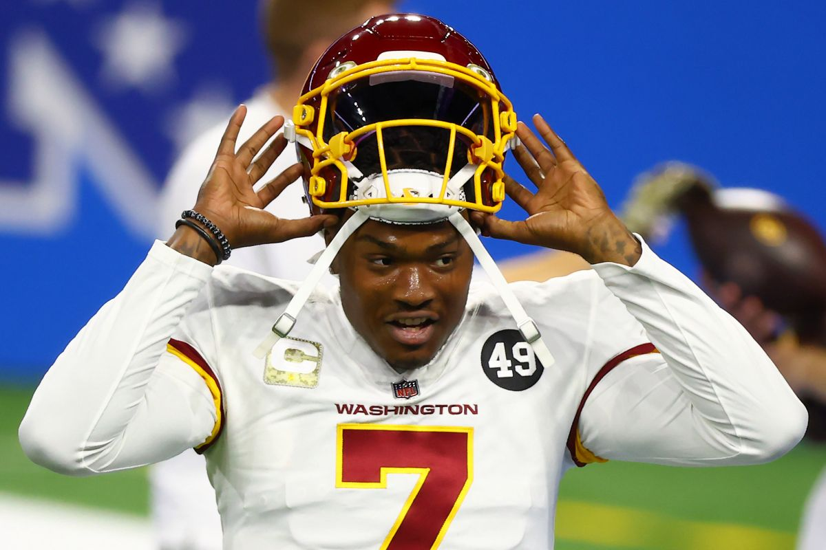 Dwayne Haskins apologizes after being caught in a strip club without a mask | The State