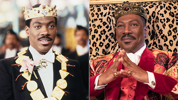 Eddie Murphy Returns As King Akeem In 'Coming 2 America': See The Cast Then & Now After 32 Years