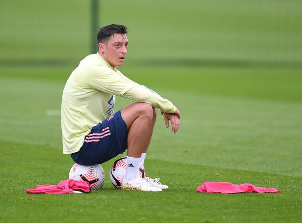 Ozil has been frozen out by Mikel Arteta at Arsenal this season