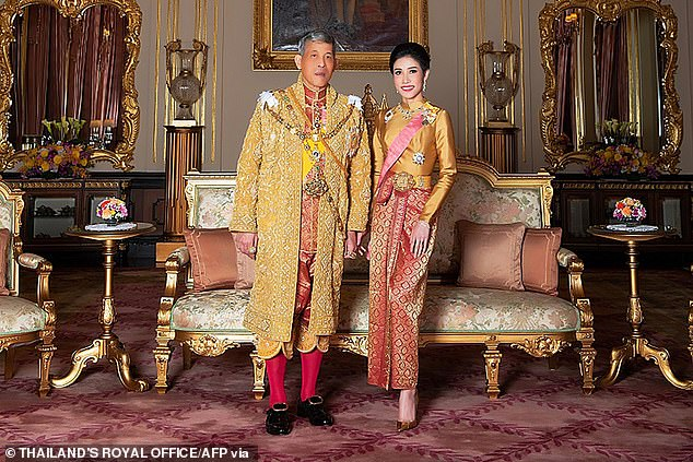 Enemies of King of Thailand's mistress send 1,400 sexually-explicit nude pictures of her