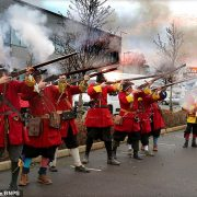 Facebook freezes accounts of British historical re-enactment society