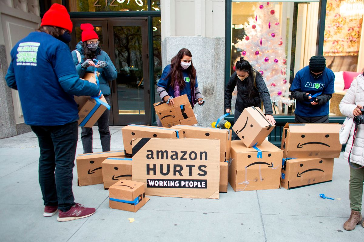 Federal Victory for Amazon Worker Fired for Protest in New York; 19 thousand employees infected in the pandemic | The State
