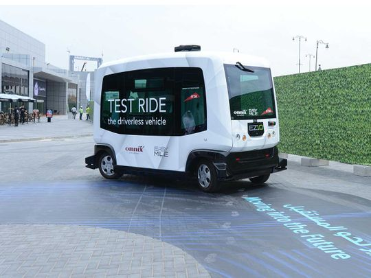 Finalists announced for Dubai World Challenge for Self-Driving Transport