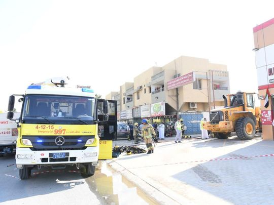Firefighters bring blaze at Ajman refrigerator factory under control, no casualties reported