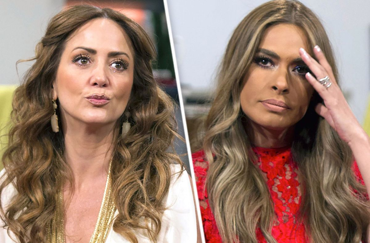 Galilea Montijo and Andrea Legarreta, inadvertently create a sensual duel of cleavage | The State