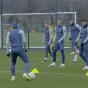 Gareth Bale mocks Son Heung-min with 'Karius' jibe during Tottenham training