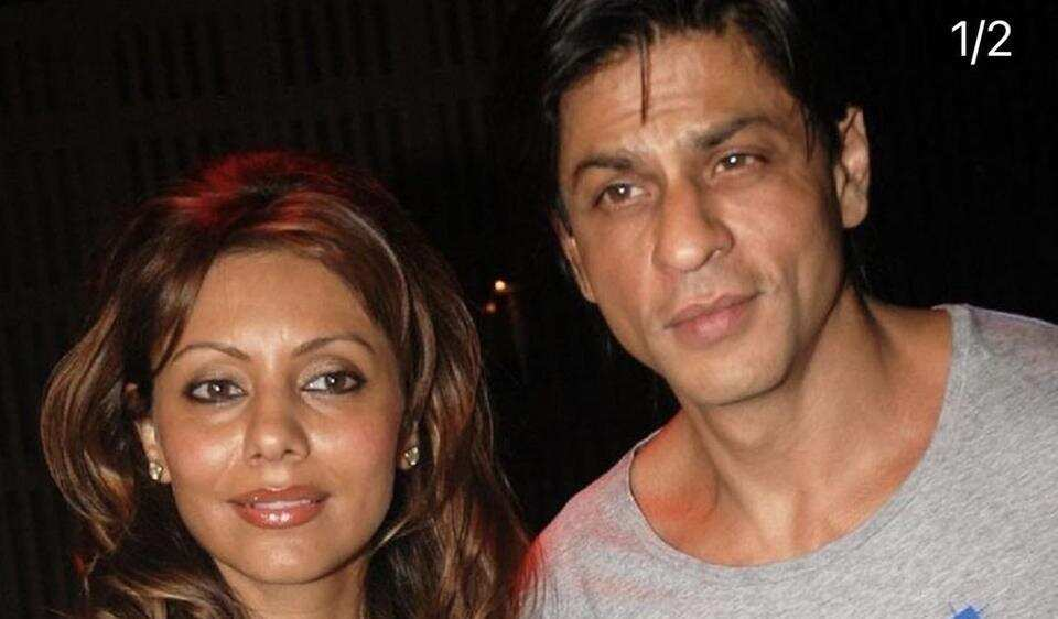 Gauri Khan shares throwback photo with Shah Rukh Khan as early New Year treat, fans call them 'king and queen'