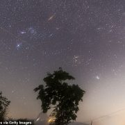 Geminid meteor shower this weekend will see more than 100 multi-colored shooting stars per hour