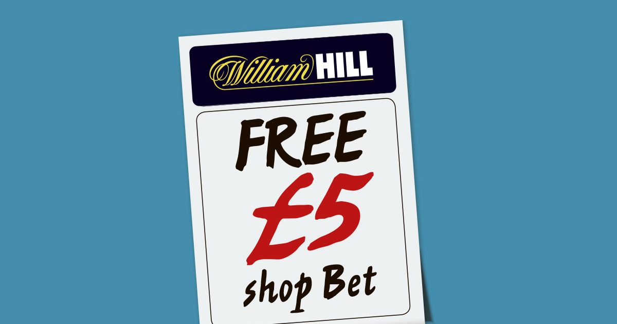 Get a £5 Free Bet on this weekend's sport with William Hill