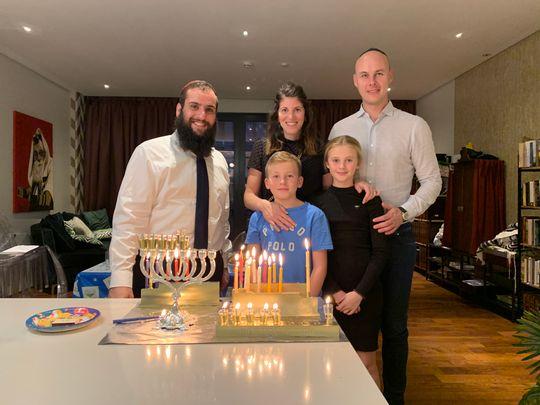 Hanukkah in Dubai and Abu Dhabi: How the Jewish community is celebrating
