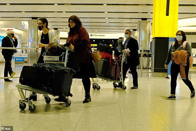 Heathrow bosses warn passengers they must book Covid swabs BEFORE heading to the airport