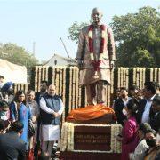 Home Minister Shah unveils Arun Jaitley's statue at DDCA premises