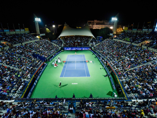 Hopes for Dubai Duty Free Tennis Championships to be moved to March