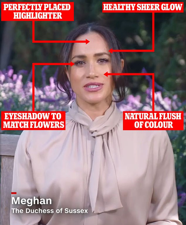 How Meghan Markle swapped dramatic makeup for a 'pared back natural' look
