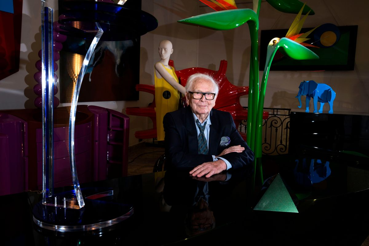 """How much money did designer Pierre Cardin, the father of """"ready to go"""" fashion, have 