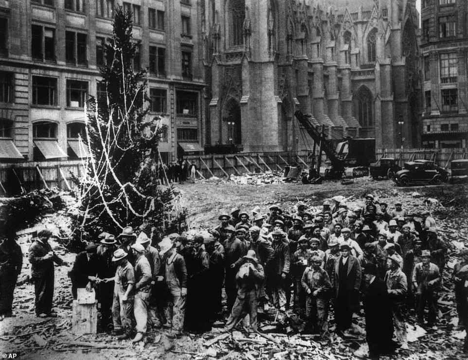 How the Rockefeller Christmas tree has been a symbol of hope over 89 years