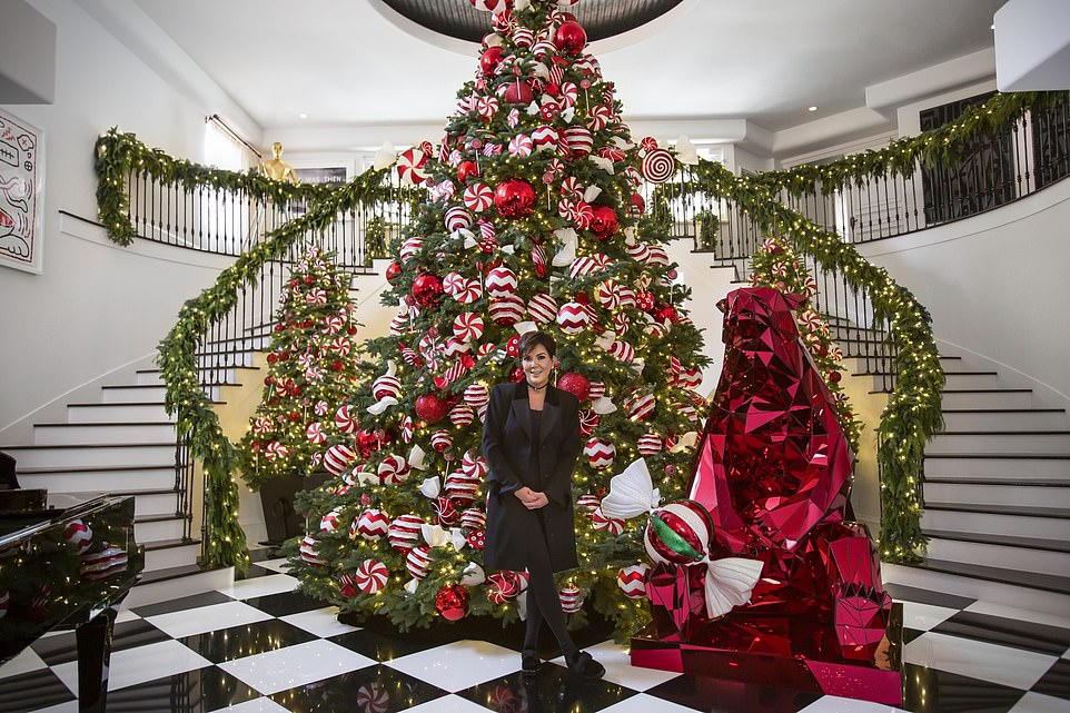 How to decorate for Christmas Kardashian-style: Kris Jenner reveals her tips via an Airbnb tutorial