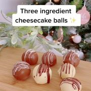 How to make cheesecake BALLS: Mum-of-two shares her 'secret' family recipe for three-ingredient dish