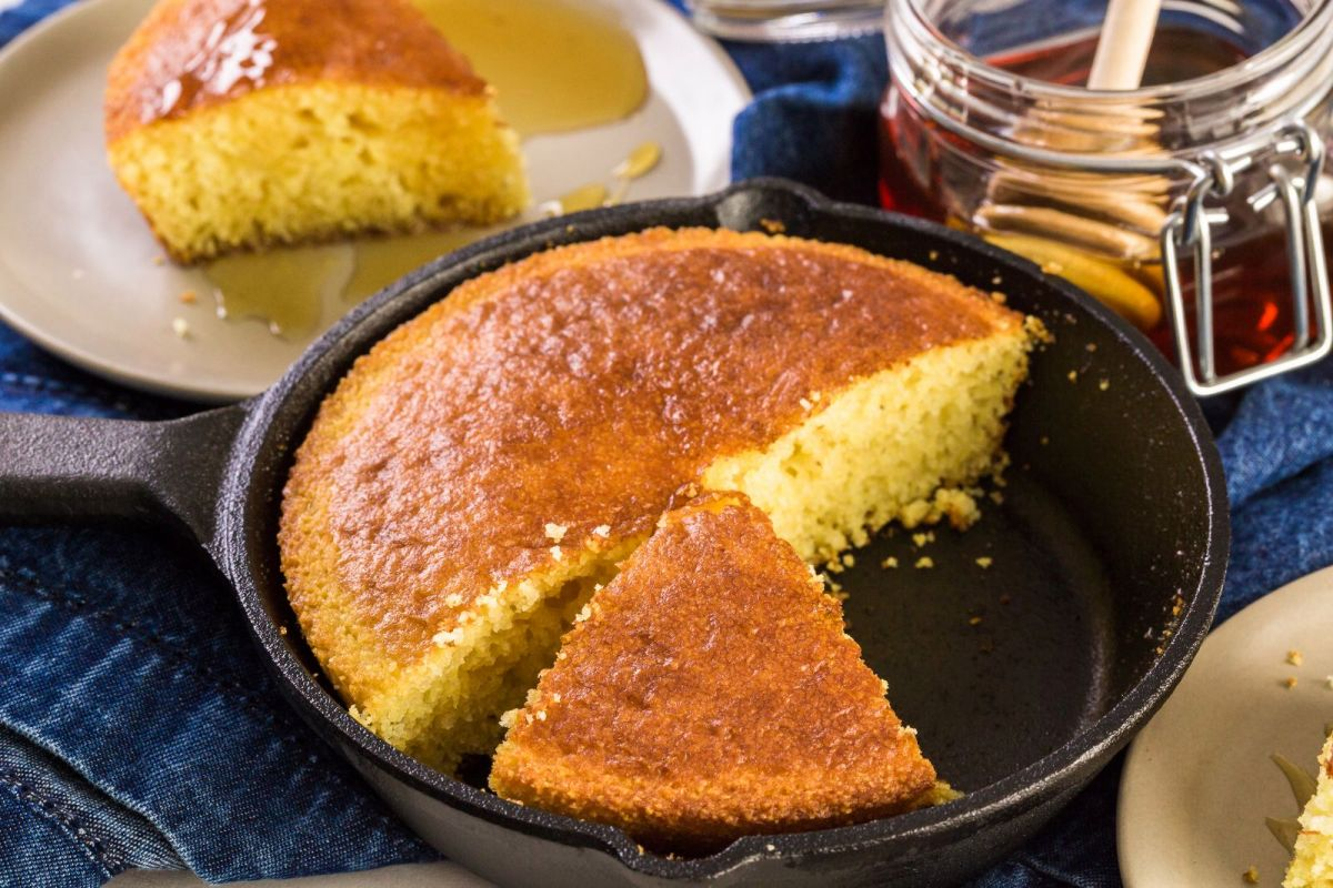 How to make corn bread with rompope sauce in the best way | The State