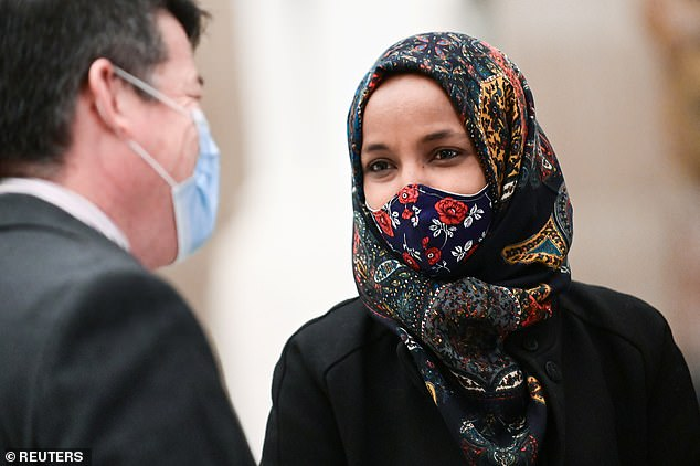 Ilhan Omar slams lawmakers like AOC for getting Covid vaccine first