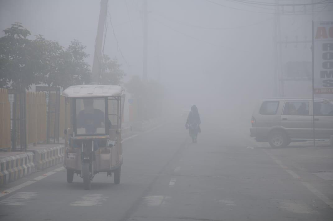 In pictures: Cold wave intensifies in Haryana, Punjab; Hisar records minus 1.2 deg C