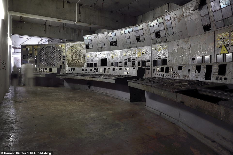 Inside Chernobyl: Fascinating book documents adventurer's exploration of the Exclusion Zone