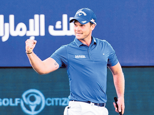 It's been weird: Danny Willett fired up for season finale in Dubai