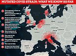 Italy becomes fourth country to spot mutated Covid virus in British traveller