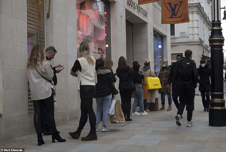 It's beginning to look a lot like Christmas PANIC! Sea of shoppers flood Oxford Street and West End