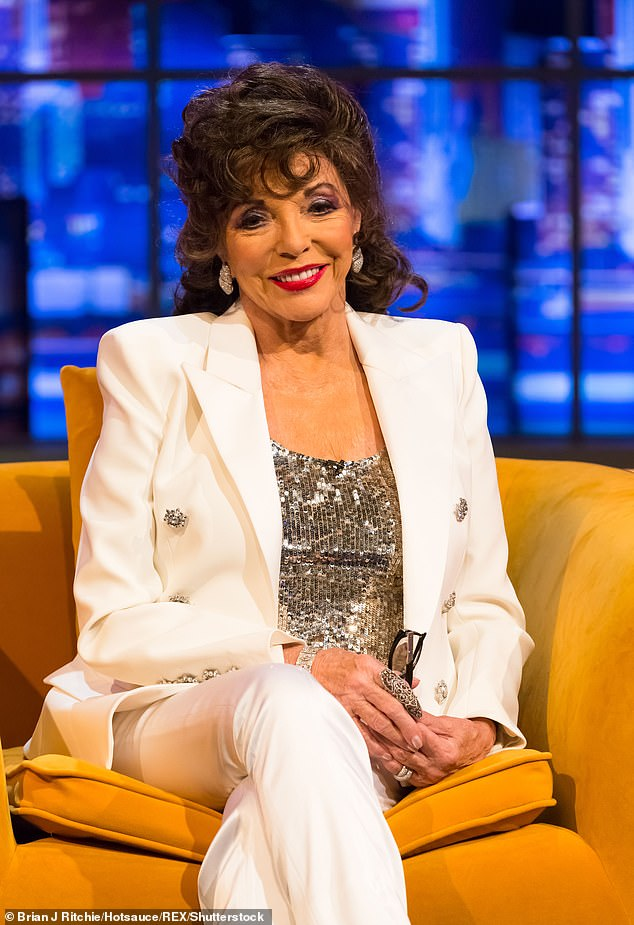 Joan Collins says this Christmas will be 'worse' then the Second World War