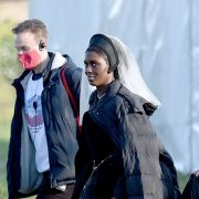 Jodie Turner-Smith is seen as Anne Boleyn for first time in convention-busting Channel 5 drama