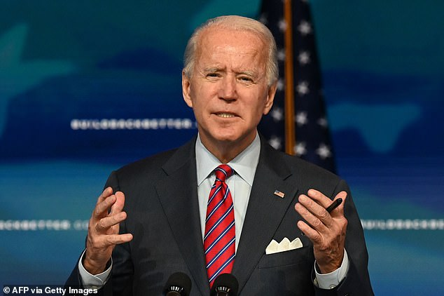 Joe Biden says his inauguration will NOT have million-strong crowd on the National Mall