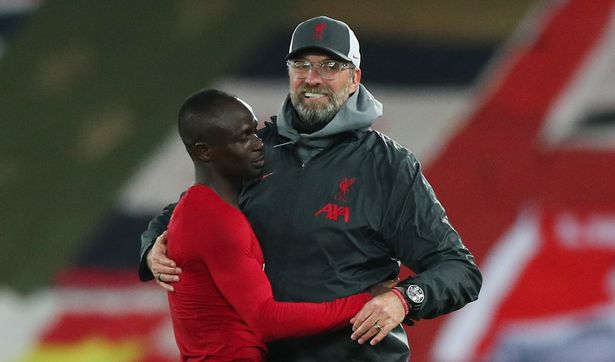 Klopp admitted he wasn't aware Mane had gone so long without scoring