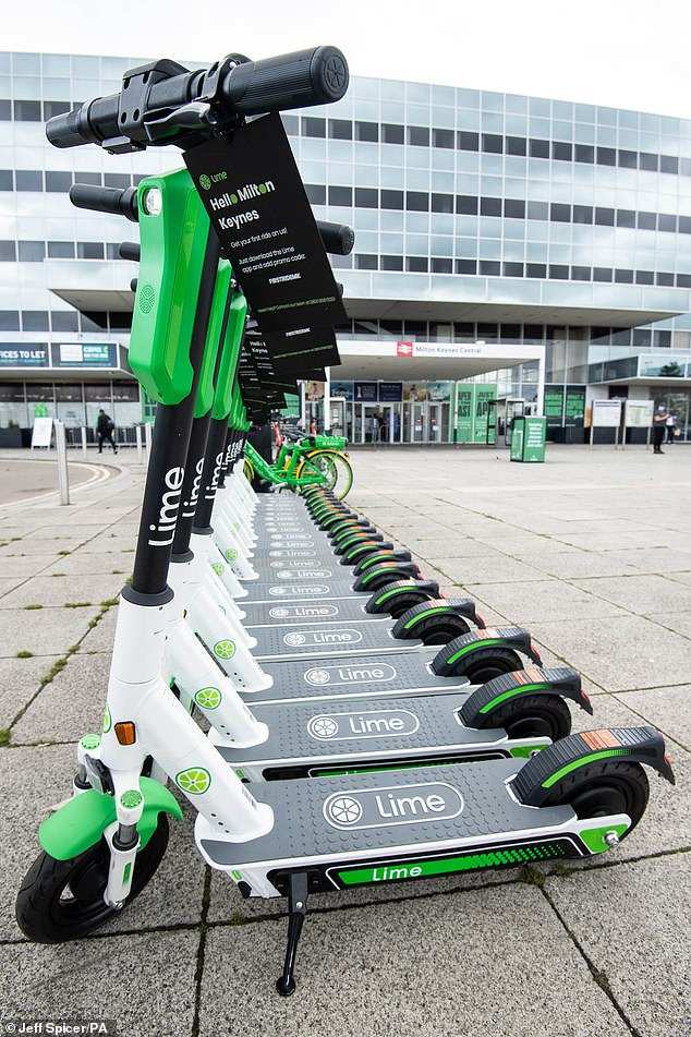 Just 4% of crimes linked to e-scooters results a charge