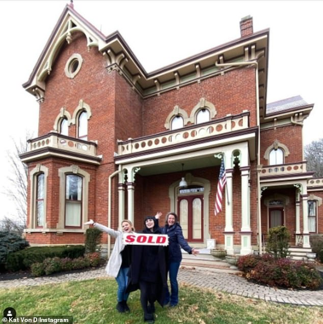 Kat Von D buys $1.8M Schenck Mansion in Indiana because of 'tyrannical government overreach' in CA