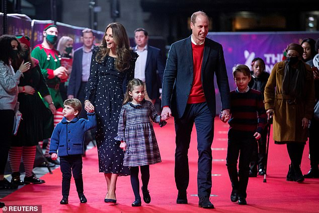 Kate Middleton and Prince William animatedly read rewritten Twas The Night Before Christmas poem