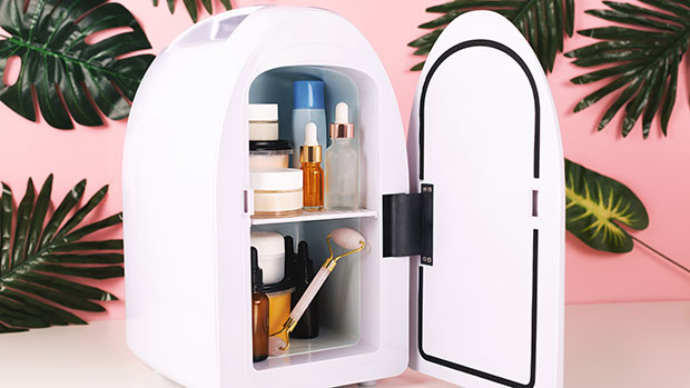 Keep All Of Your Skincare Products Fresh With This $50 Mini Fridge That Has Over 7,000 Reviews