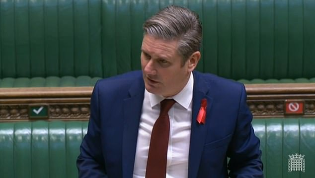 Keir Starmer accused of 'playing politics' after he orders Labour to ABSTAIN in Covid Tiers vote