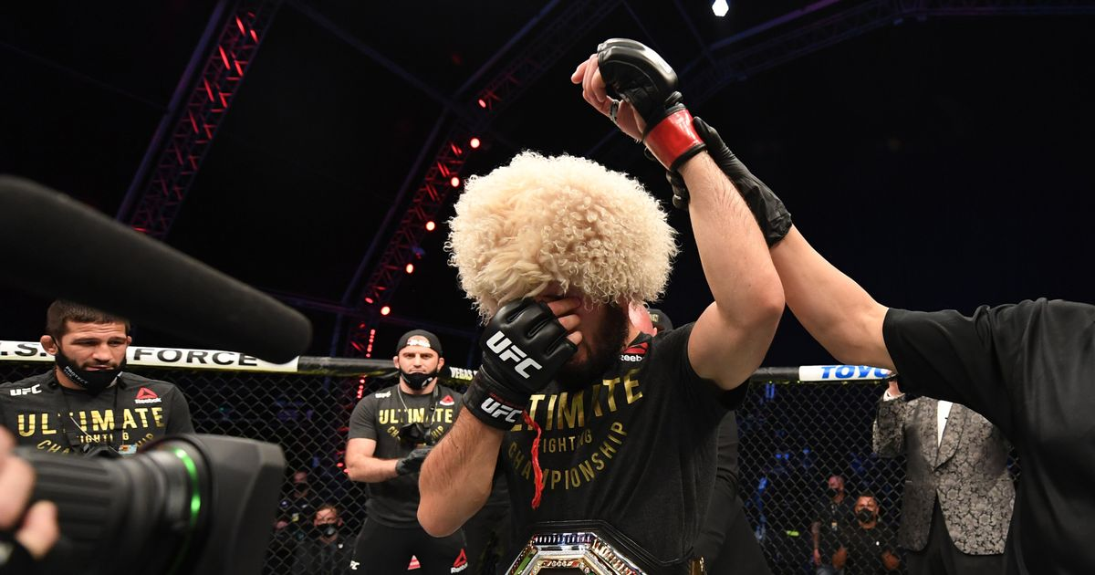 Khabib Nurmagomedov wins BBC World Sport Star of the Year award