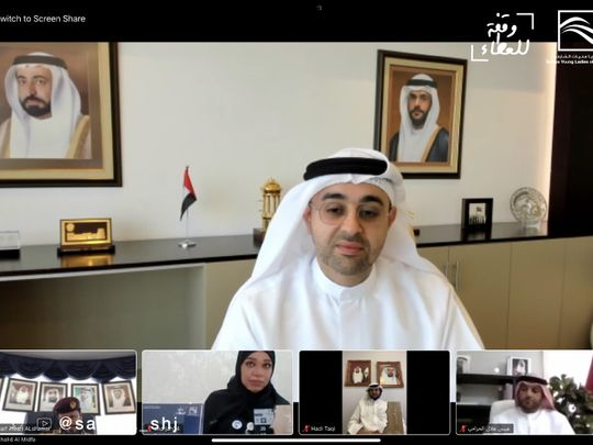 Khalid Jasim Al Midfa, chairman of Sharjah Tourism Authority, named Giving Person of the Year