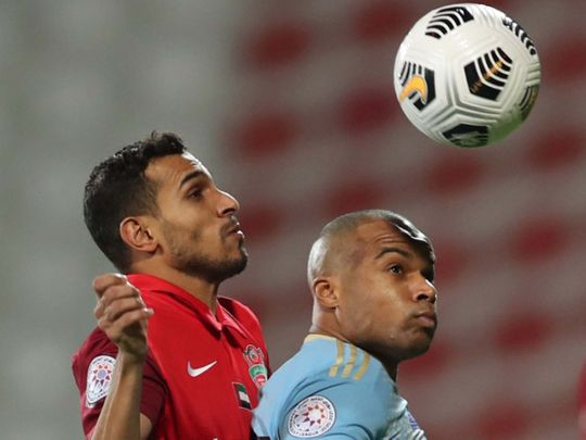 Late Soares strike ensures Sharjah keep top spot in Arabian Gulf League