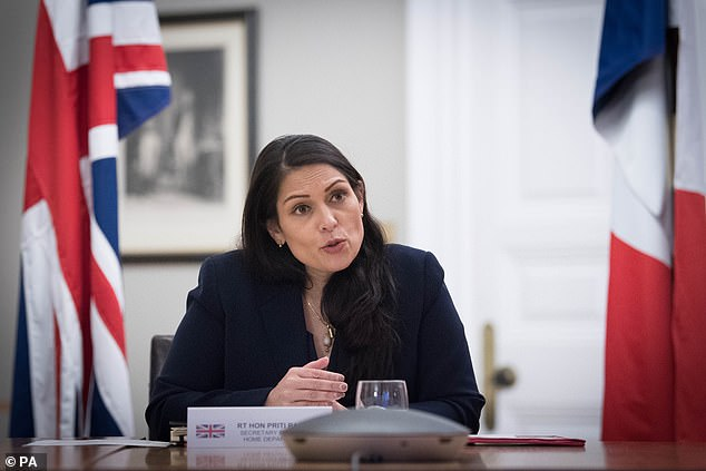 Priti Patel, pictured, was disappointed this week after 'lefty lawyers' foiled her attempts to deport a group of Jamaican criminals on a specially-chartered aircraft