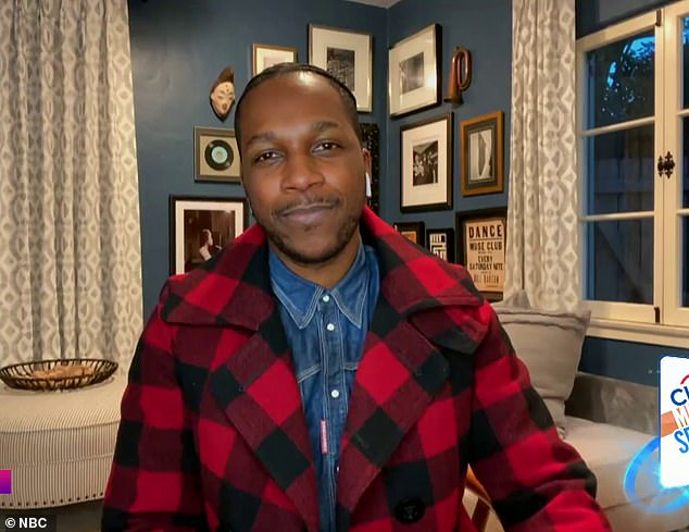 Leslie Odom is quarantining from expecting wife and daughter after recent appearance on Ellen